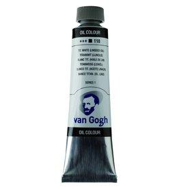 Talens Van Gogh oil paint tube 40ML Titanium white (linseed oil)