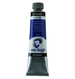Talens Van Gogh oil paint tube 40ML Pruisian blue