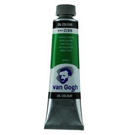 Talens Van Gogh olieverf tube 40ML Phtalogroen