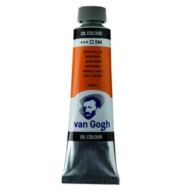 Talens Van Gogh oil paint tube 40ML Indian yellow