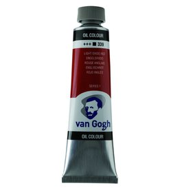 Talens Van Gogh oil paint tube 40ML Light oxide red