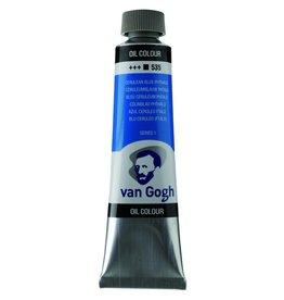 Talens Van Gogh oil paint tube 40ML Cerulean blue (phthalo)