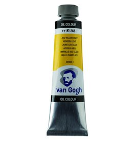 Talens Van Gogh oil paint tube 40ML Azo yellow light