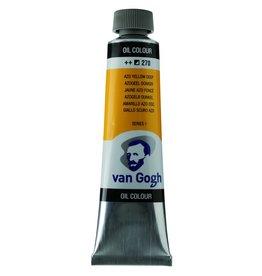 Talens Van Gogh oil paint tube 40ML Azo yellow deep