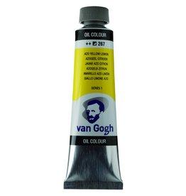 Talens Van Gogh oil paint tube 40ML Azo yellow lemon