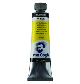 Talens Van Gogh olieverf tube 40ML Azogeel citroen