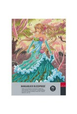 Manga tekenpapier blok A4 50 vel