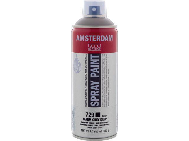 Talens spray 400ML  Warmgrijs donker