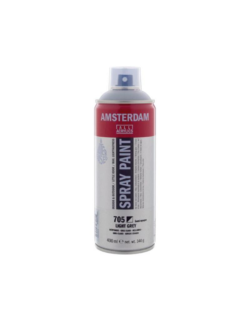 Talens Amsterdam acrylverf spray 400ML  Lichtgrijs