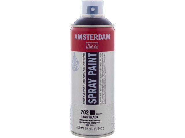 Talens spray 400ML  Lampenzwart