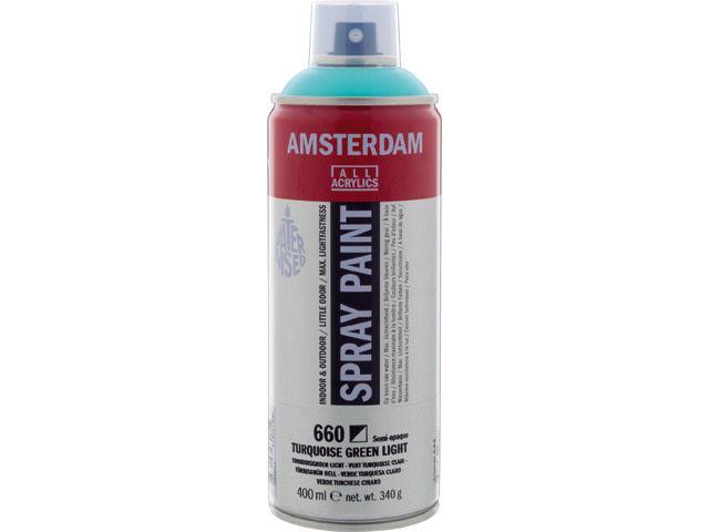 Talens spray 400ML  Turkooigroen licht