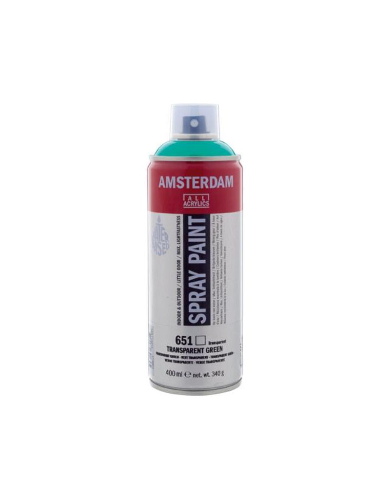 Talens spray 400ML  Transparant groen