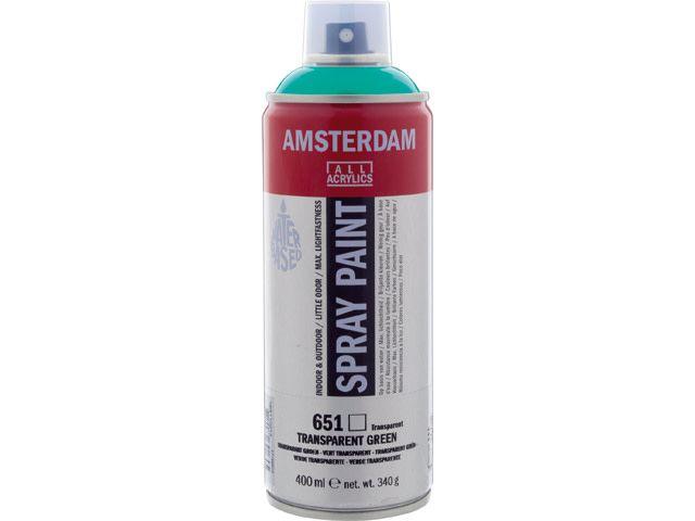 Talens spray 400ML  Transparant groen