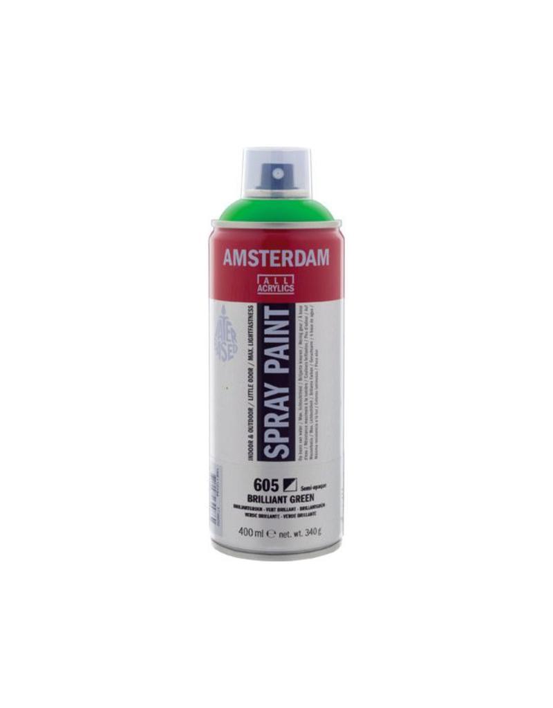 Talens Amsterdam acrylverf spray 400ML  Briljantgroen