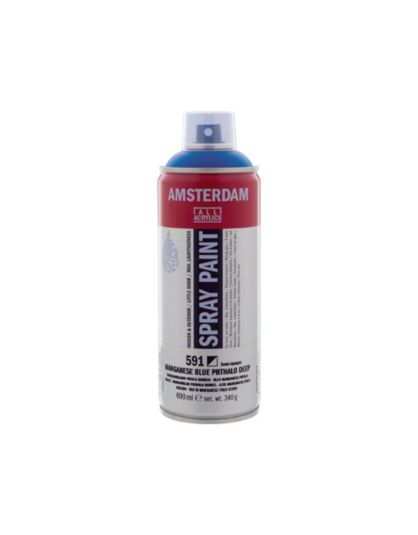 Talens spray 400ML  Mangaanblauw donker