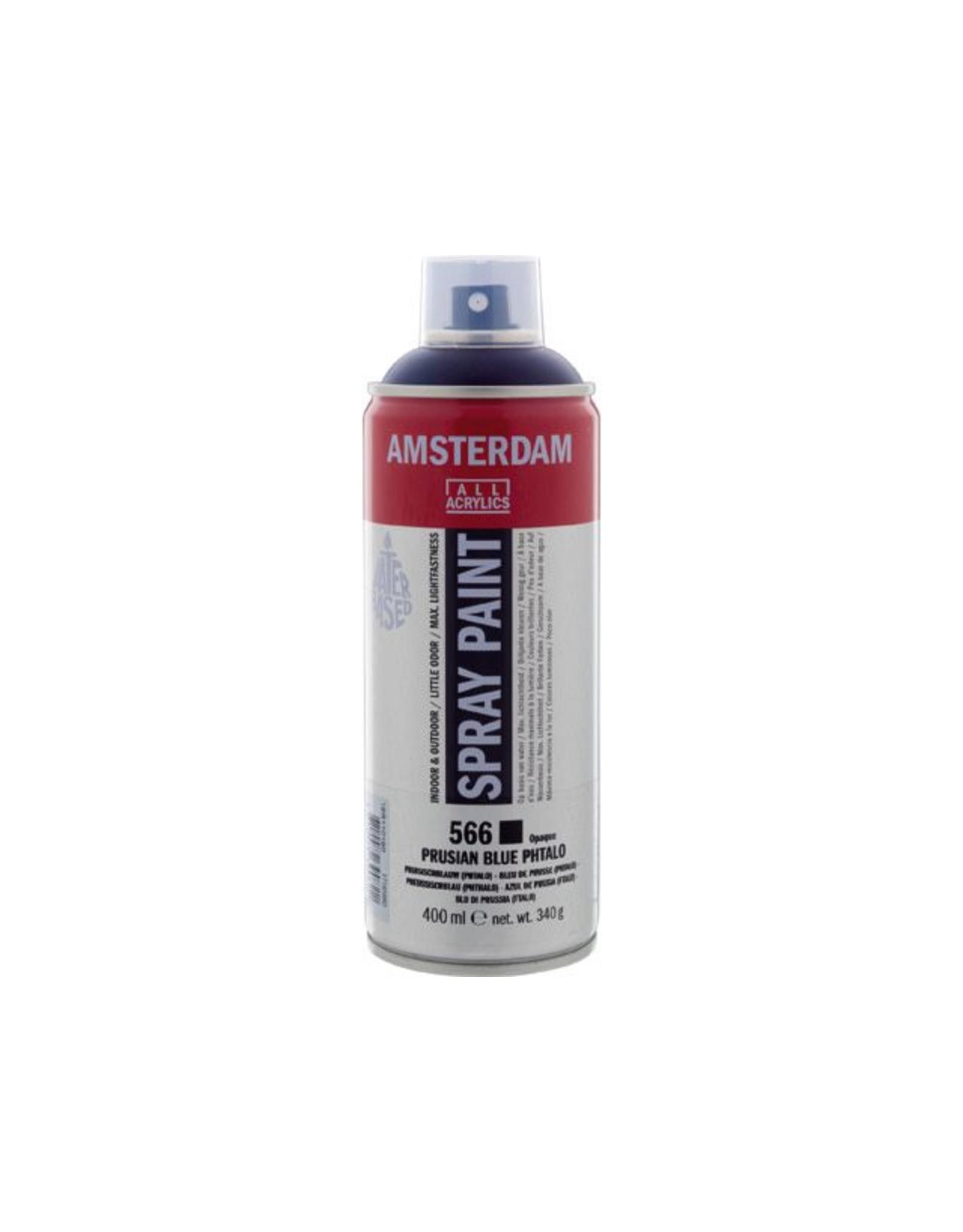 Talens spray 400ML  Pruisischblauw (phtalo)