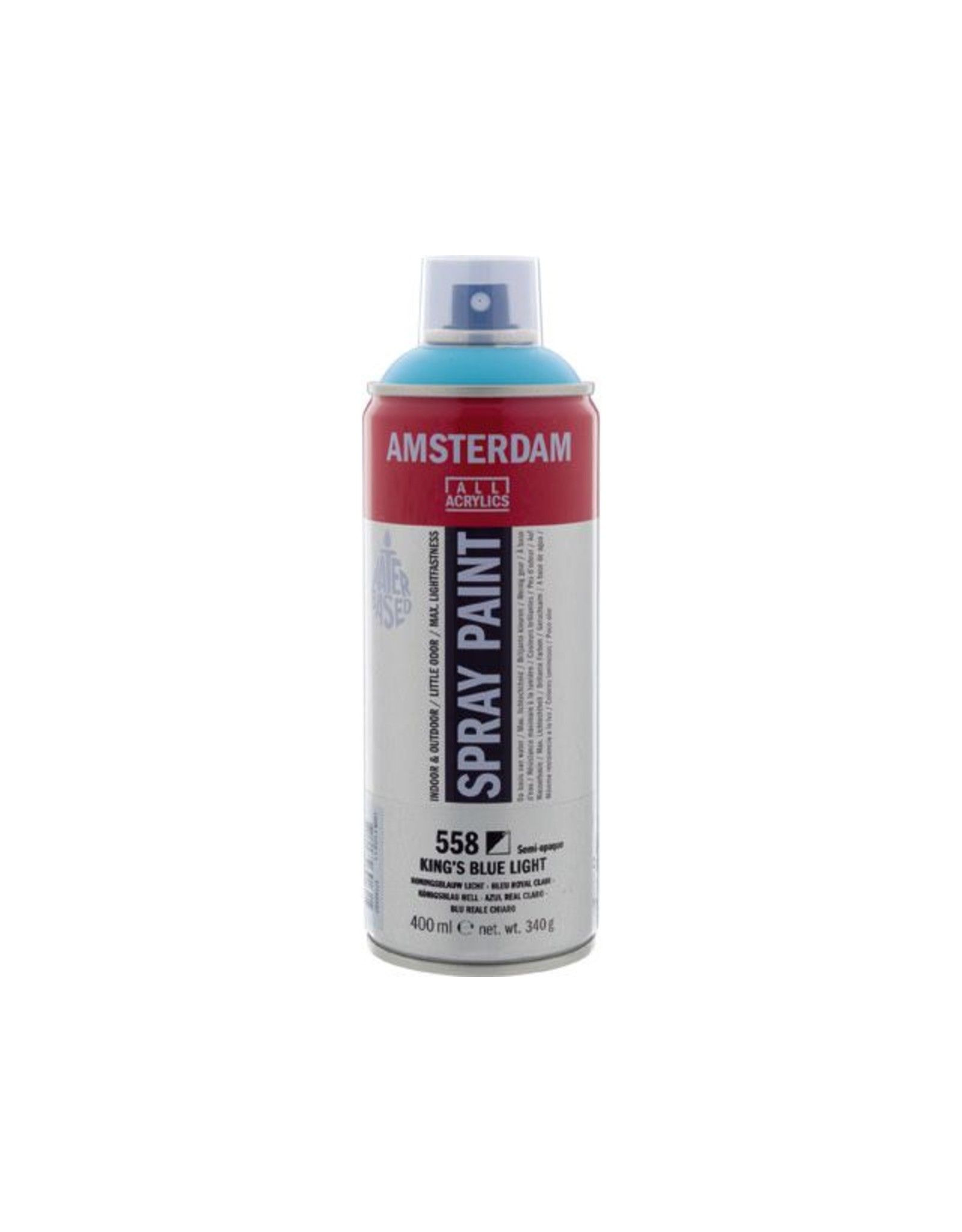 Talens spray 400ML  Koningsblauw licht