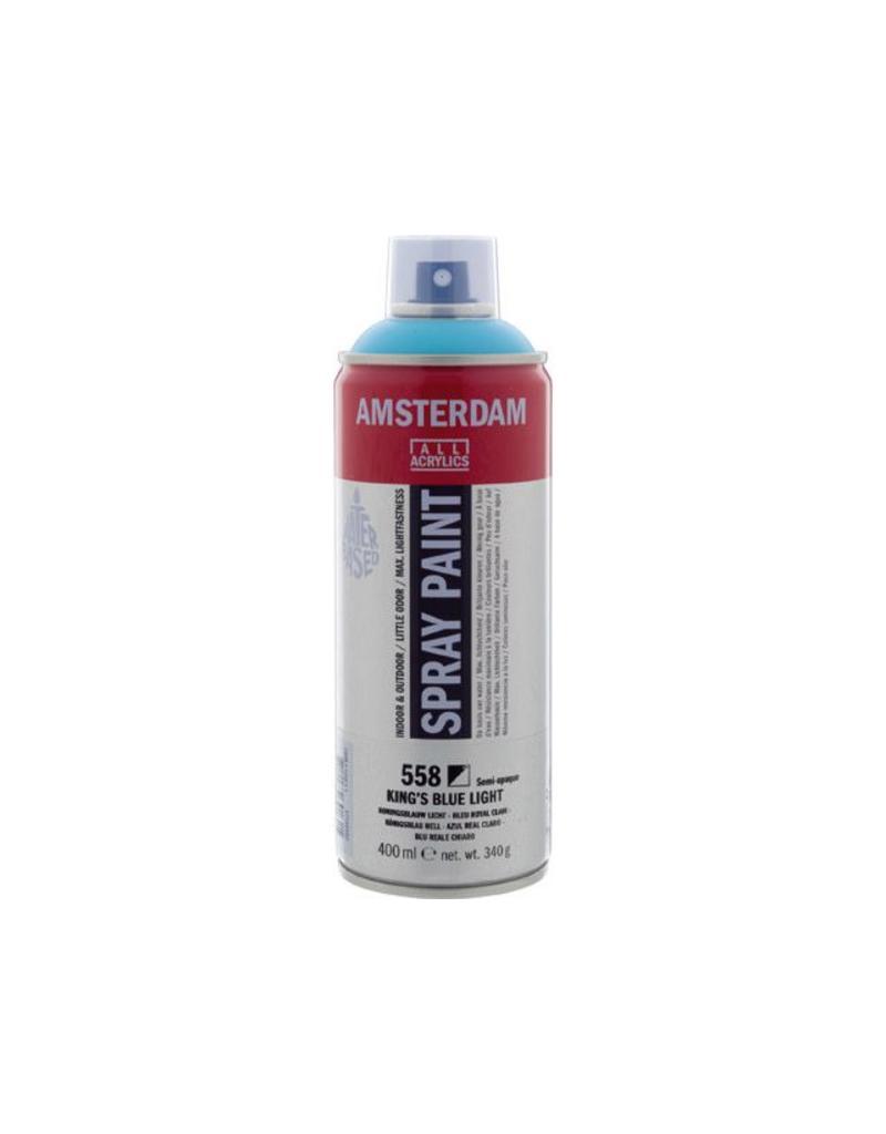 Talens Amsterdam acrylverf spray 400ML  Koningsblauw licht