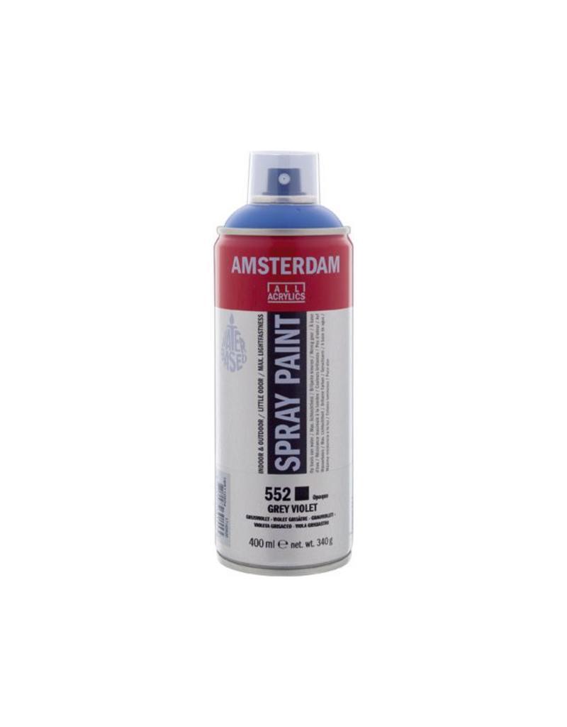 Talens Amsterdam acrylverf spray 400ML  Grijs violet