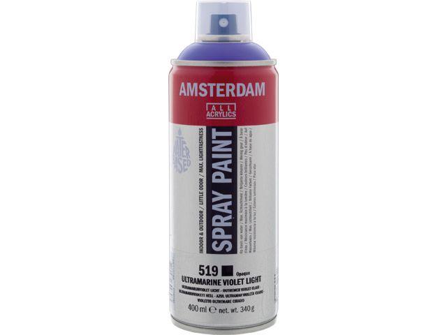 Talens spray 400ML  Ultramarijnviolet licht