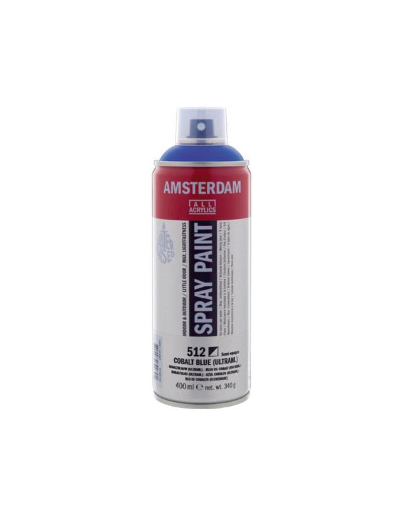 Talens spray 400ML  Kobaltblauw (ultramarijn)