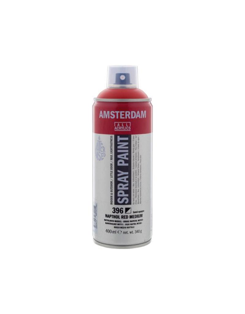 Talens Amsterdam acrylverf spray 400ML  Naftolrood middel