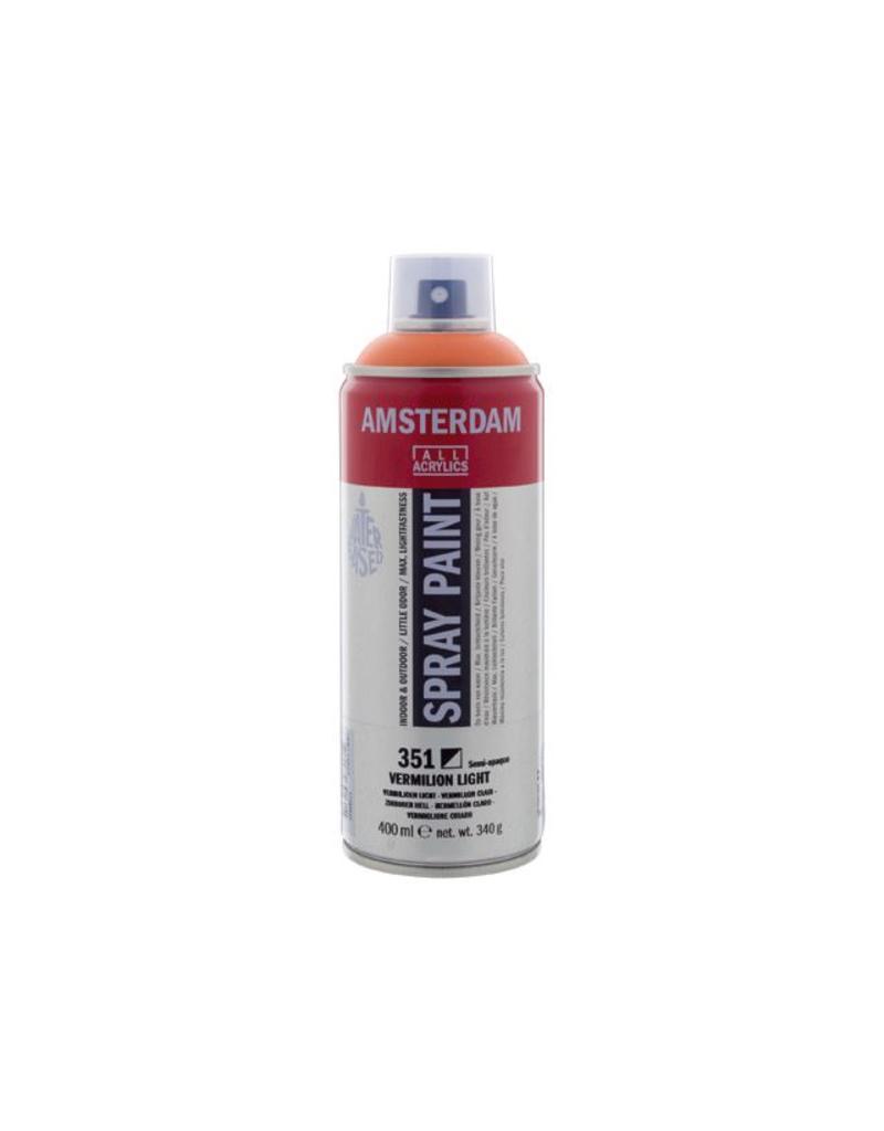 Talens Amsterdam acrylverf spray 400ML  Vermiljoen licht