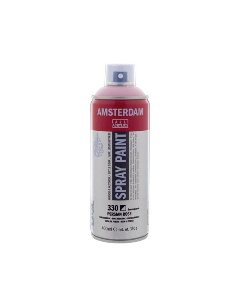 Talens Amsterdam acrylverf spray 400ML  Perzischrose