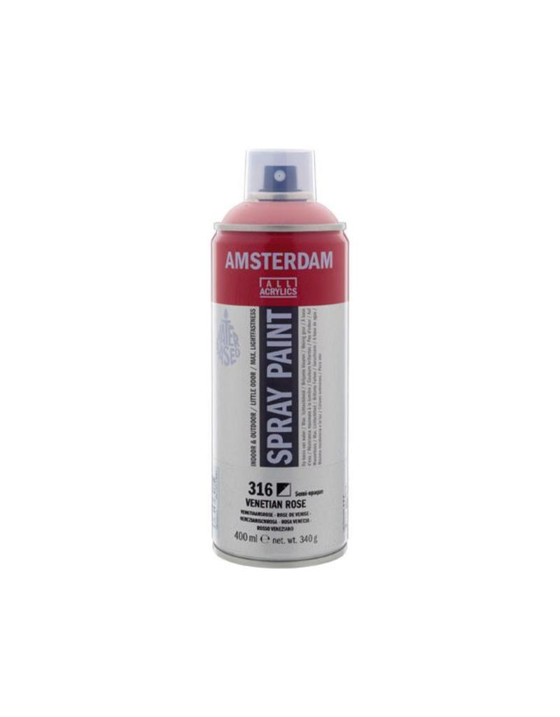 Talens Amsterdam acrylverf spray 400ML  Venetiaansrose