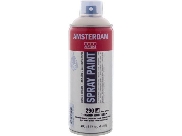Talens spray 400ML  Titaanbuff donker