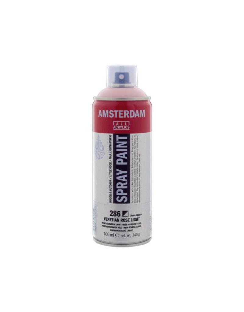 Talens Amsterdam acrylverf spray 400ML  Venetiaansrose licht