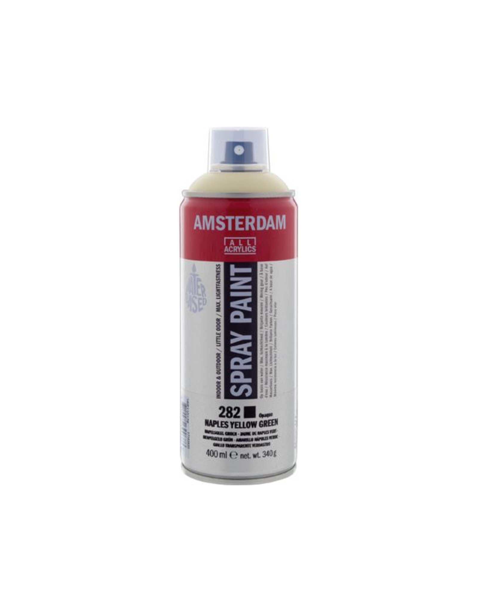 Talens spray 400ML  Napelsgeel groen