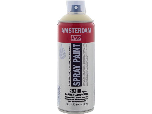 Talens spray 400ML  Napelsgeel groen