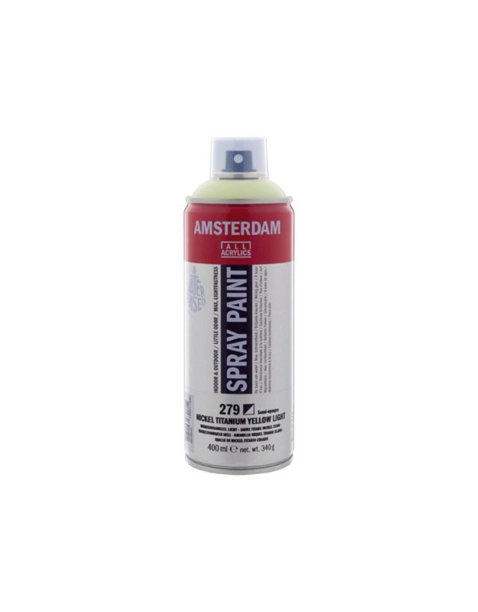 Talens spray 400ML  Nikkeltitaangeel licht