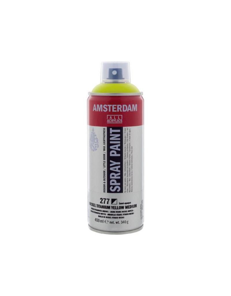 Talens Amsterdam acrylverf spray 400ML  Nikkeltitaangeel middel