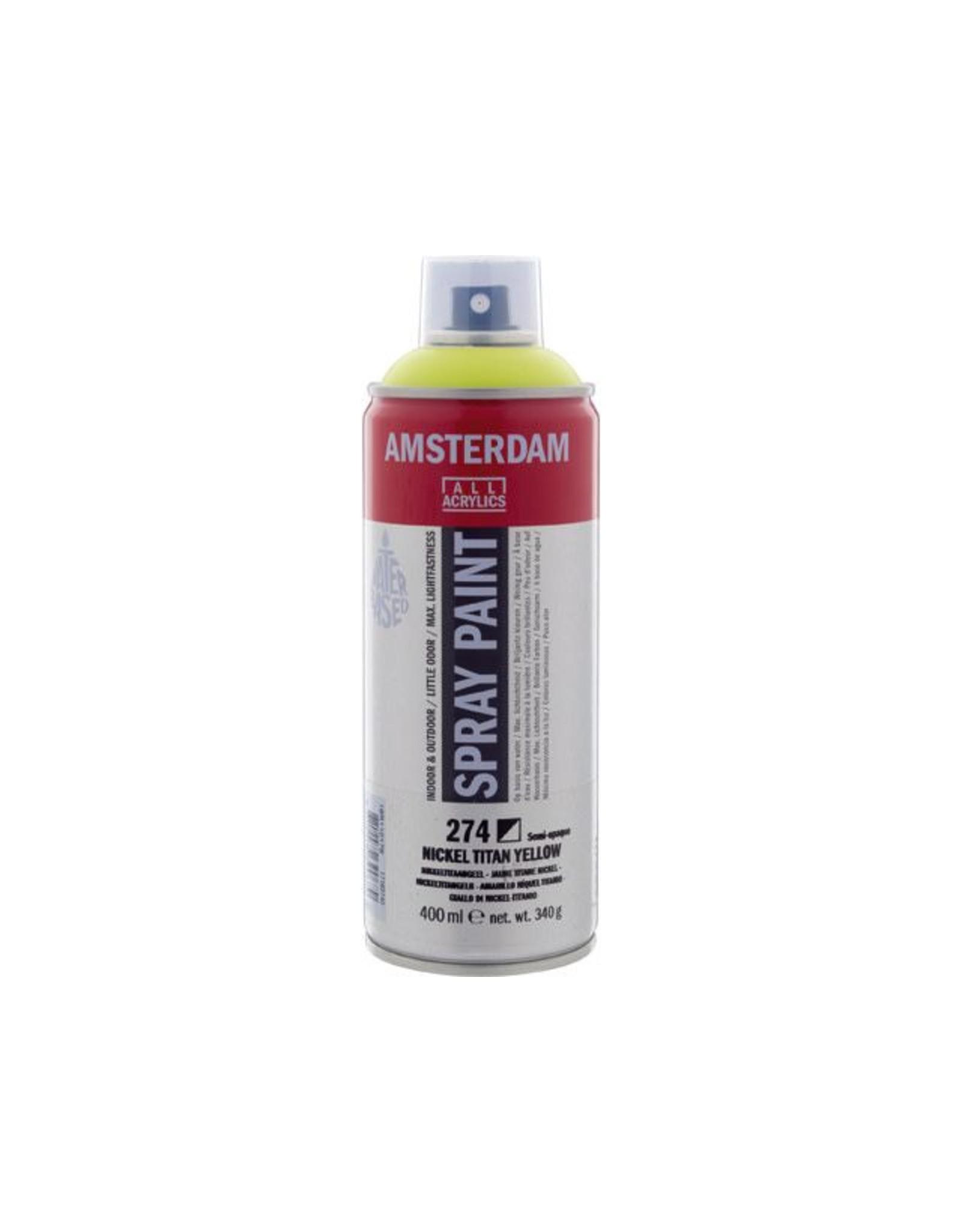 Talens spray 400ML  Nikkeltitaangeel