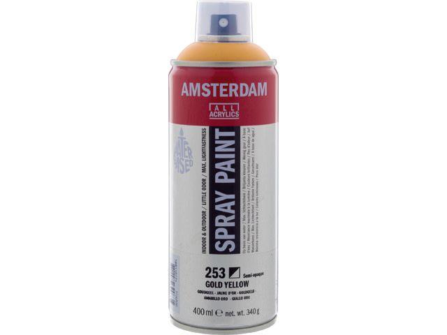 Talens spray 400ML  Goudgeel