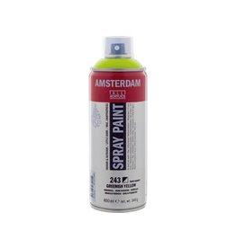 Talens spray 400ML  Groengeel