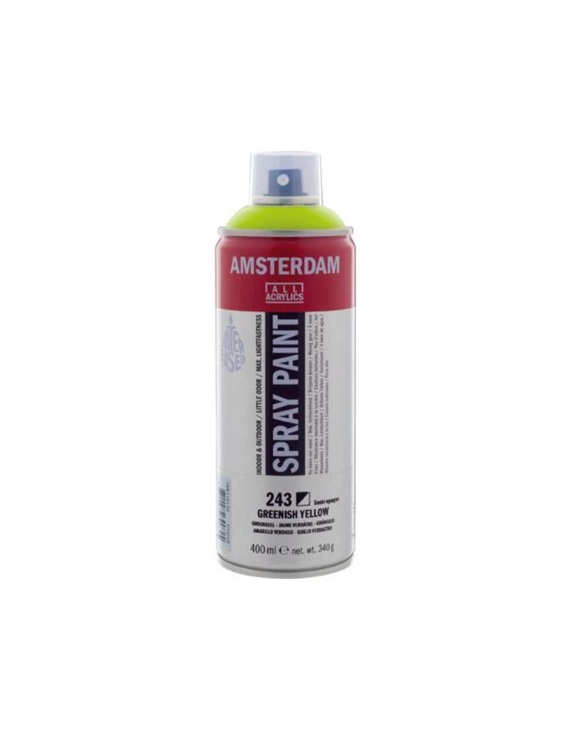 Talens Amsterdam acrylverf spray 400ML  Groengeel