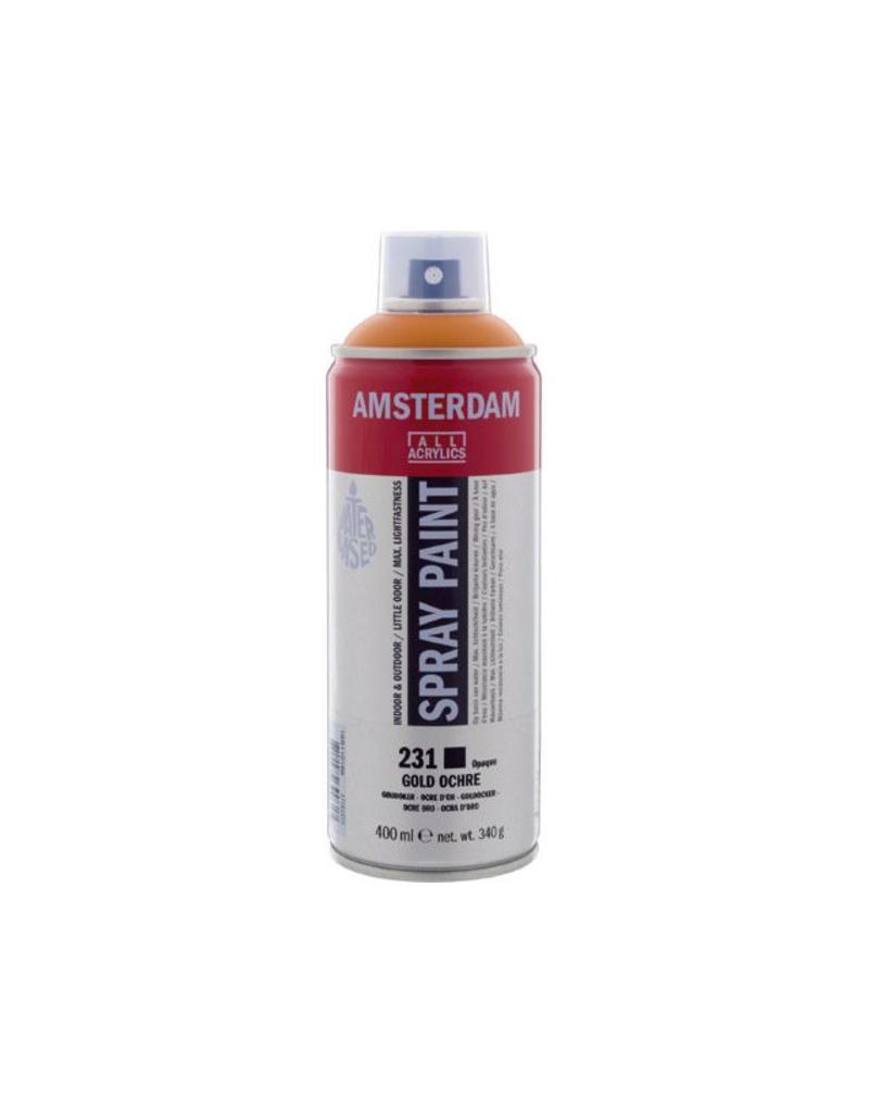 Talens Amsterdam acrylverf spray 400ML  Goudoker