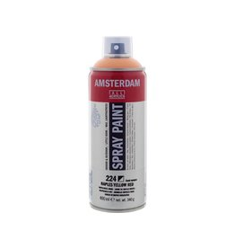 Talens Amsterdam acrylverf spray 400ML  Napelsgeel rood licht