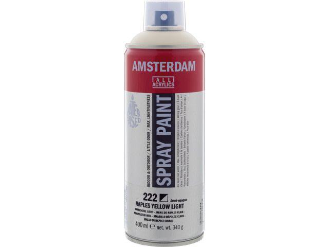 Talens spray 400ML  Napelsgeel licht