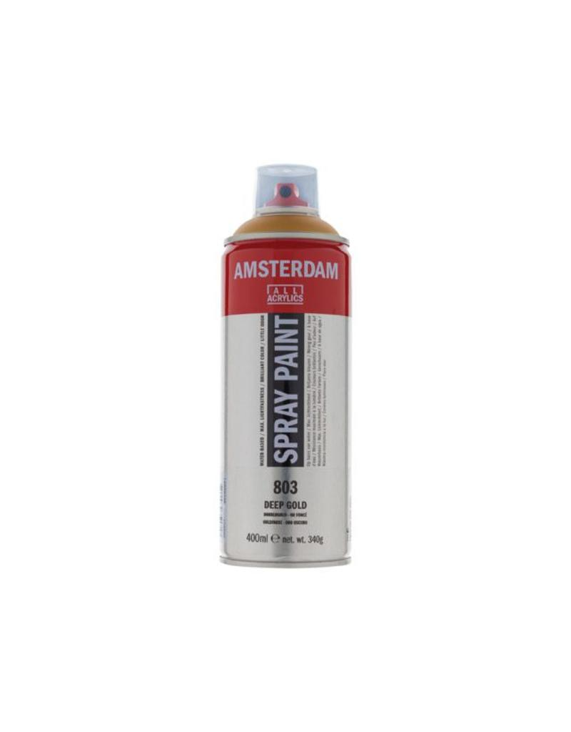 Talens Amsterdam acrylverf spray 400ML  Donkergoud