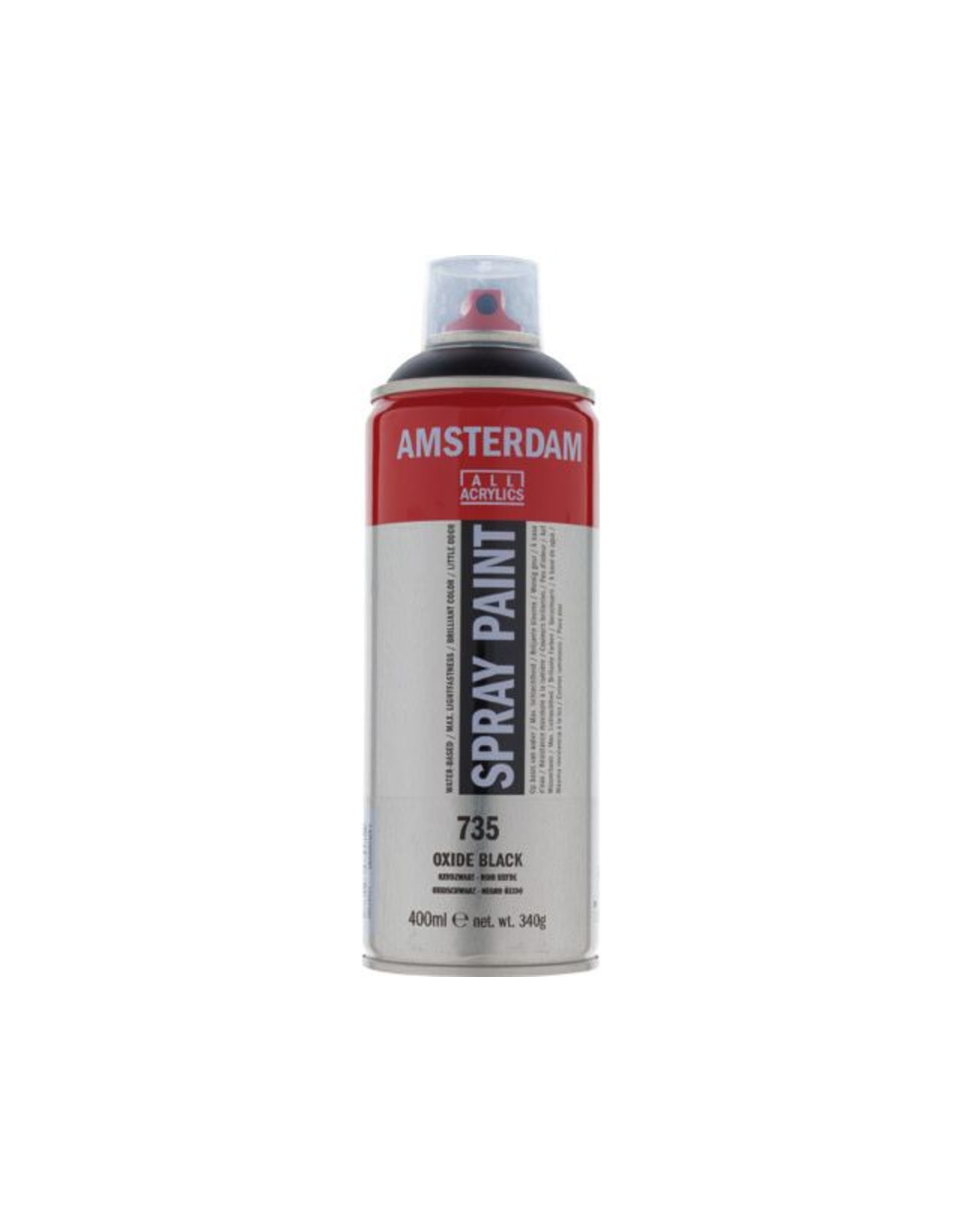Talens spray 400ML  Oxydzwart