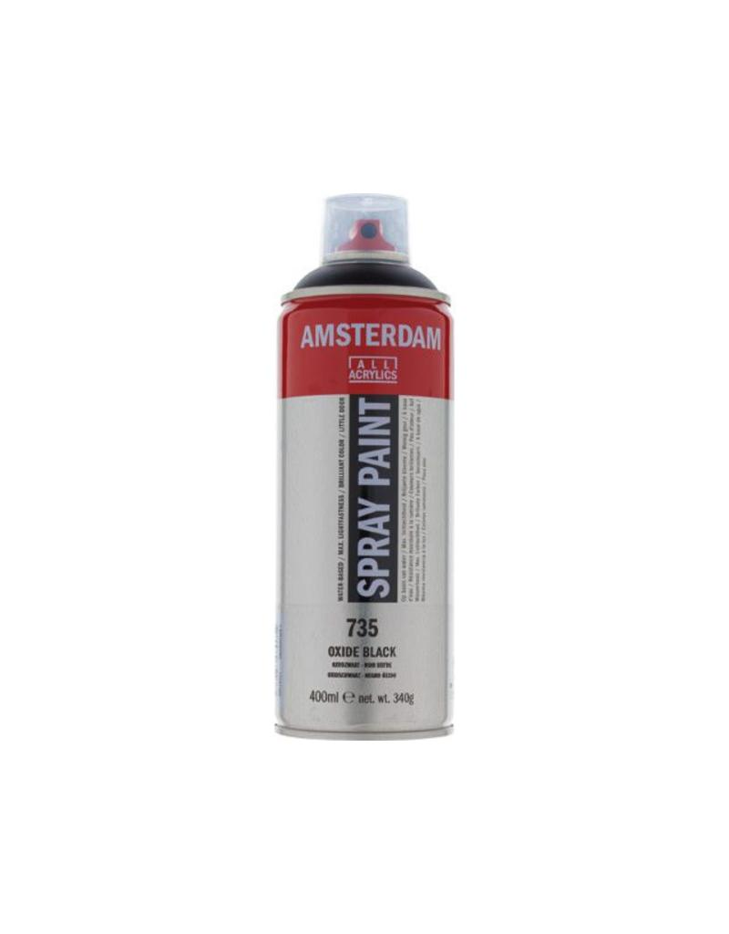 Talens Amsterdam acrylverf spray 400ML  Oxydzwart