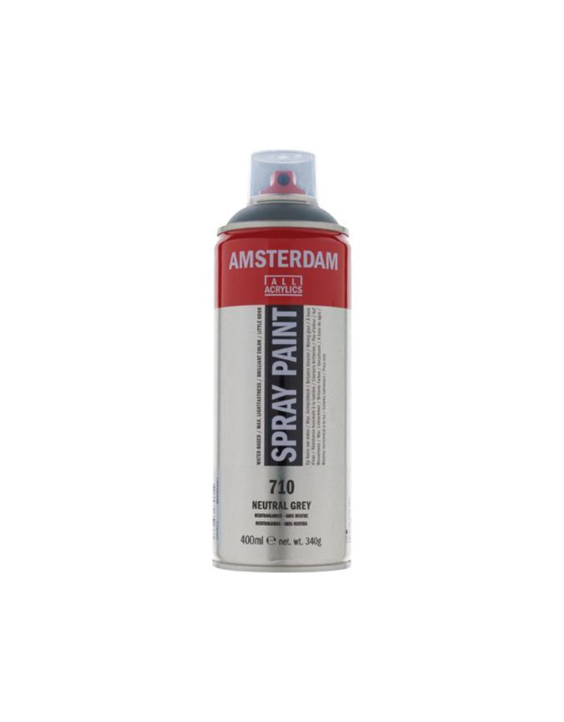Talens Amsterdam acrylverf spray 400ML  Neutraal grijs