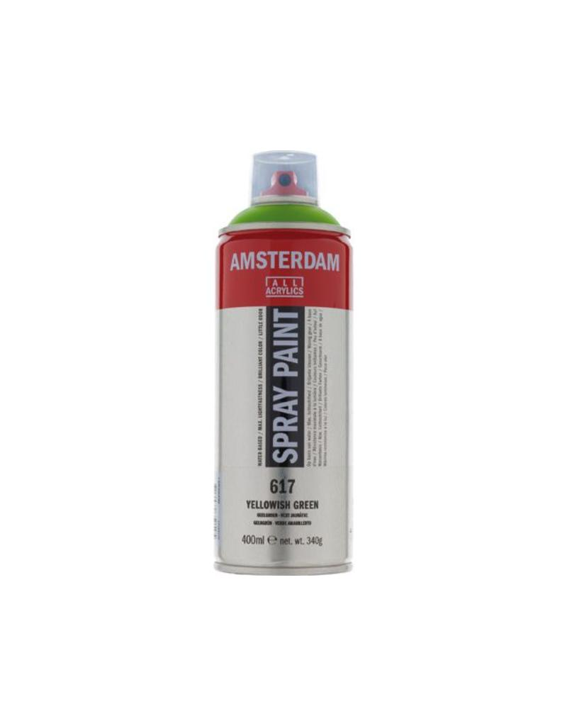Talens Amsterdam acrylverf spray 400ML  Geelgroen