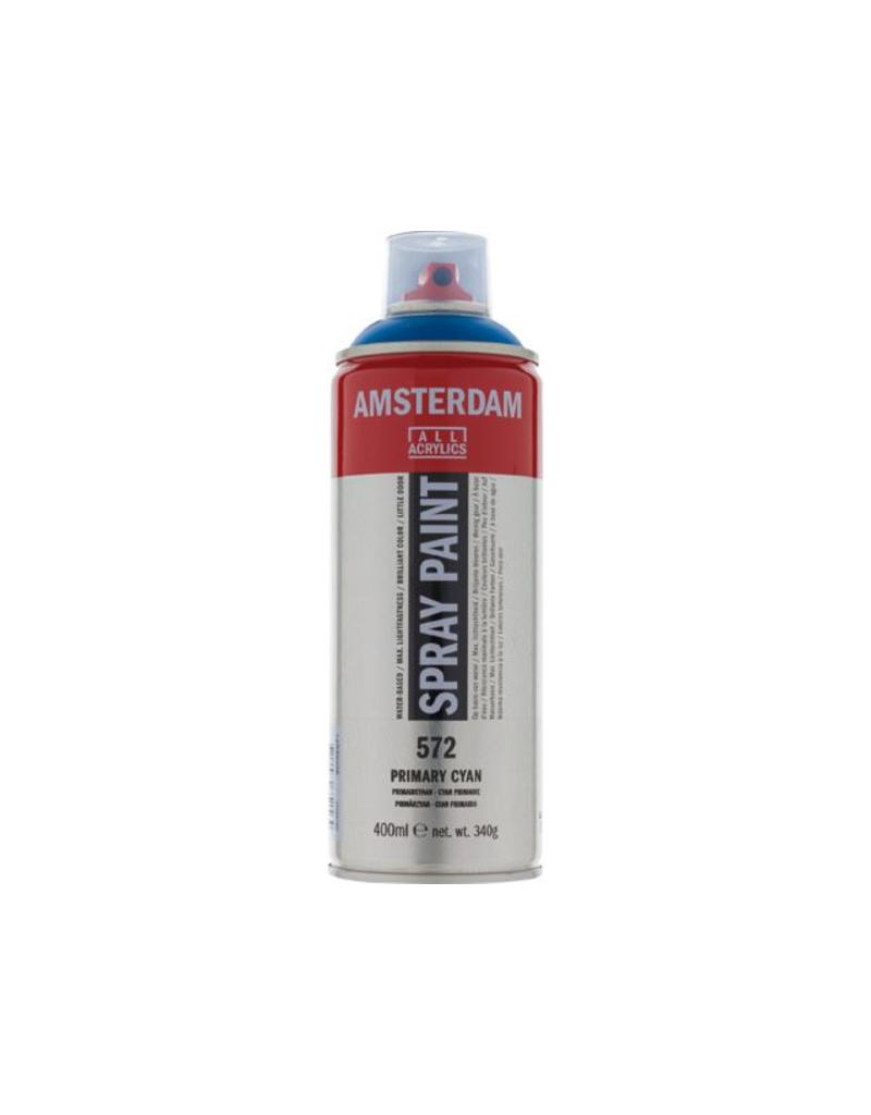 Talens Amsterdam acrylverf spray 400ML  Primaircyaan