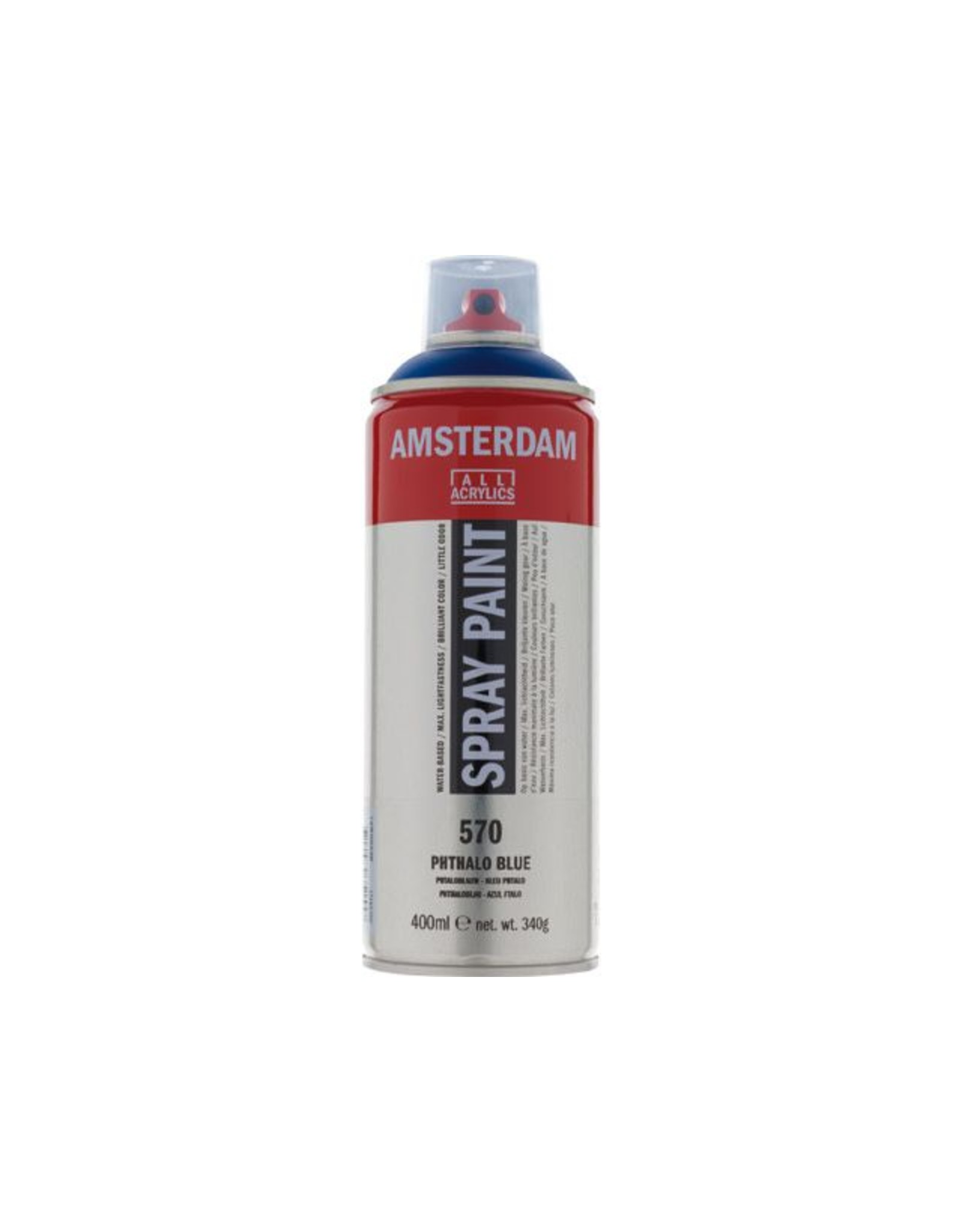 Talens spray 400ML  Phtaloblauw