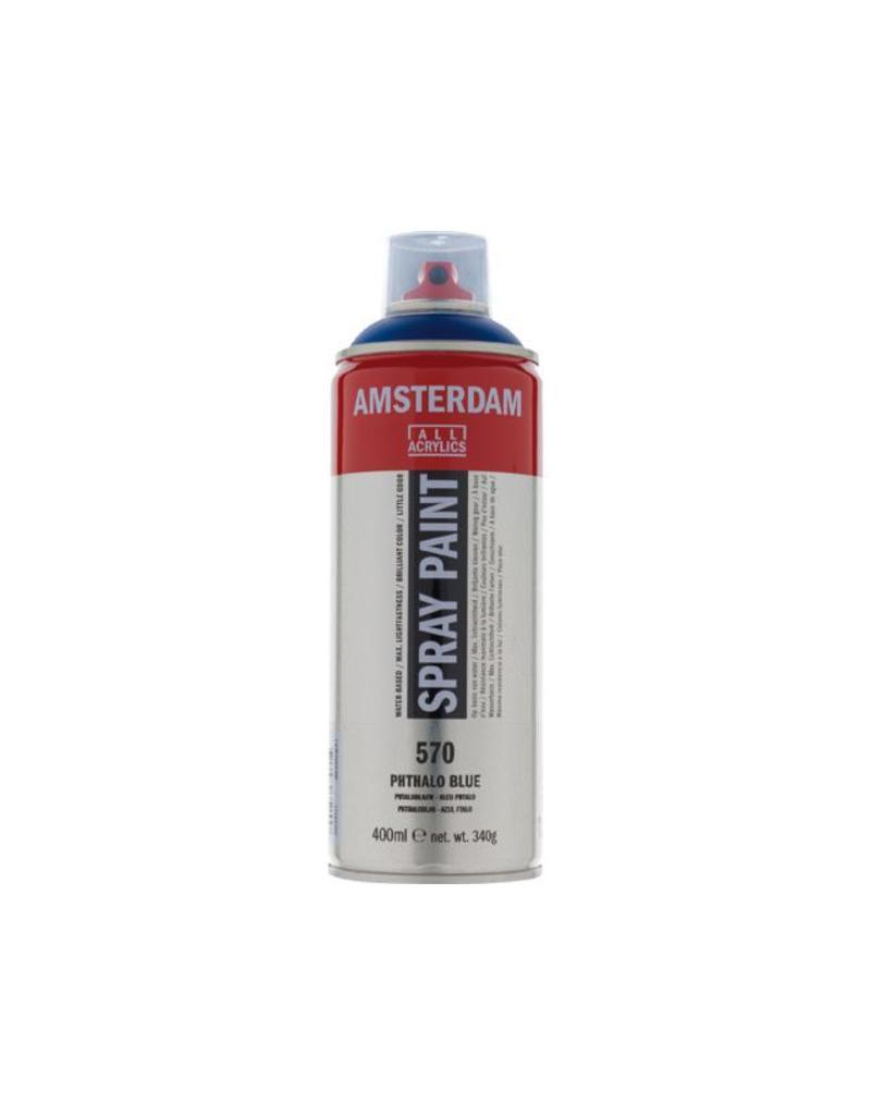 Talens Amsterdam acrylverf spray 400ML  Phtaloblauw